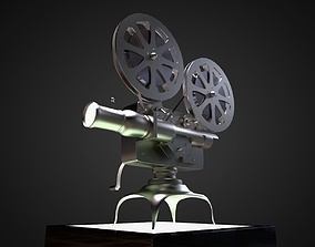 3D model Vintage Movie Projector