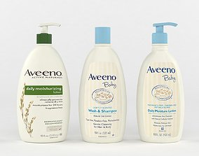3D Aveeno Baby Gentle Wash and Shampoo