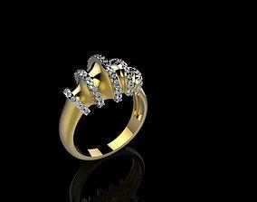 3D print model A RINGS N18