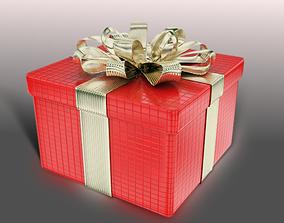 3D model Gift Box present