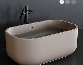 3D asset Ceramica Cielo Dafne art DABAT Bathtub