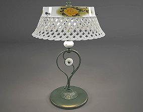 The Table lamp Ferroluce-Verona 3D model