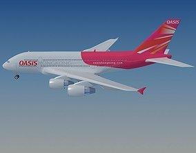 Hong Kong Airlines Airbus 3D