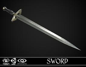 3D asset realtime Sword A5