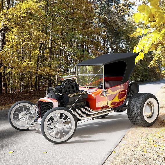 Hot road car 2