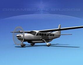 3D model Cessna C208 Caravan LP SS