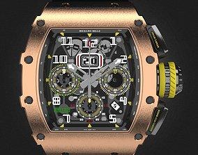 3D Richard Mille RM 11-03 watch