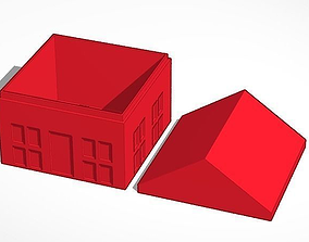 House as Box 3D printable model