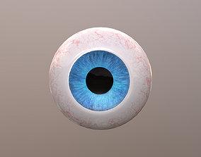 3D model VR / AR ready Eyeball