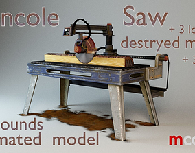 3D model Console Sawmill