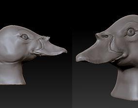 Duck head 2 3D printable model