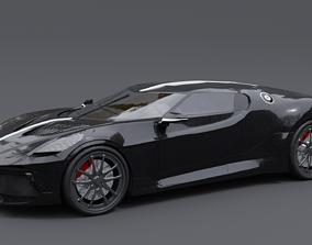 3D Bugatti La Voiture Noire - new