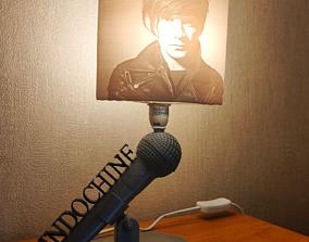Indochine Lampe et litophane 3D print model