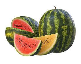 3D model watermelon Watermelon