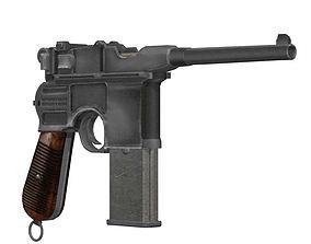 3D Mauser Broomhandle 1912
