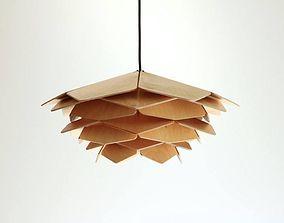 3D printable model LASER CUT PARAMETRIC BEAUTIFUL LAMP