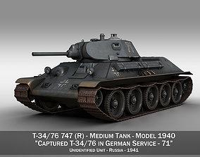 T-34-76 - Model 1940 -Soviet medium tank - 71 3D