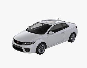 3D asset 2010 Kia - Forte Koup SX