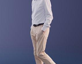 Carlos 10187 - Walking Business Man 3D asset