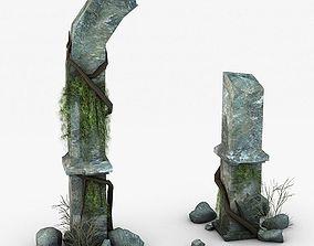 Jungle Ruins 3D realtime