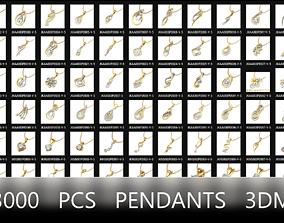 pendants 3000 pcs 3dm