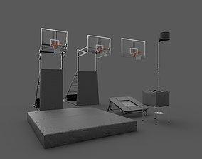 3D model Acrobatic Basketball Props