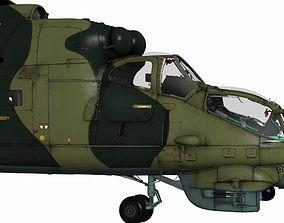 Mil Mi-24V Hind 3D model