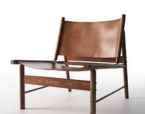 Lounge Chair by Jorge Zalszupin 3D model