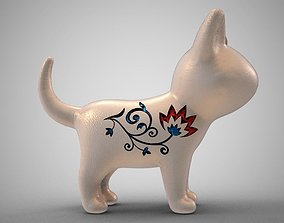 Cat Necklace 3D printable model