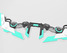 3D printable model Ashe league of legends Project Skin