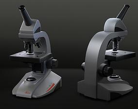 3D model Leica Microscope