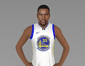Kevin Durant ready for full color 3D printing