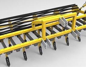 Cultivator 3D model
