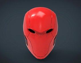 RED HOOD Helmet - stl files for 3d printing 3D print 1