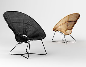 Feelgood designs Tornaux lounge chair 3D model