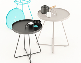 3D Cane Line On The Move Side Table