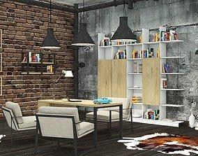 3D model Loft Office