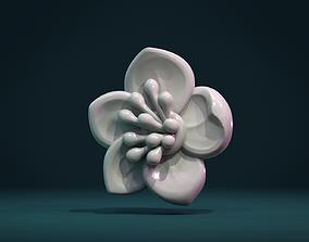 printable Apple flower 3D printable model