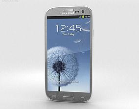 Samsung Galaxy S3 Neo Titanium Grey 3D