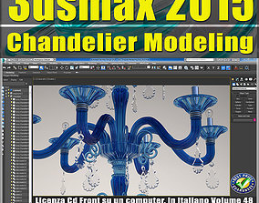 Video Corso 3ds max 2015 Chandelier Modeling vol 48 CD 1