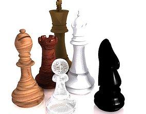 3D model 3d chess