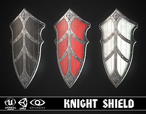 3D asset game-ready Knight Shield 10