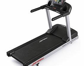 3D model Lifefitness Activate Series Treadmill