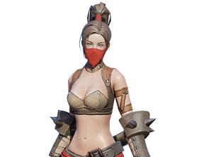 3D model Rogue Characters