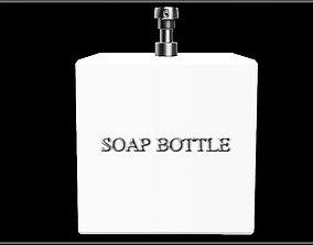 Soap Bottle Dispenser - Square 3D model