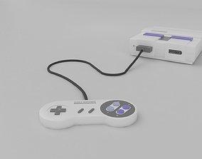 Super Nintendo 3D asset realtime