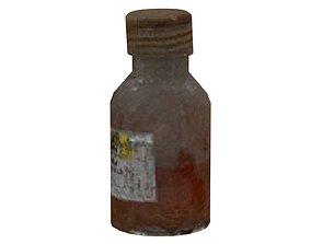 Old Drugs Bottle 01 06 3D asset