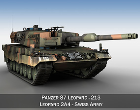 3D model Panzer 87 Leopard - 213 - Swiss Army
