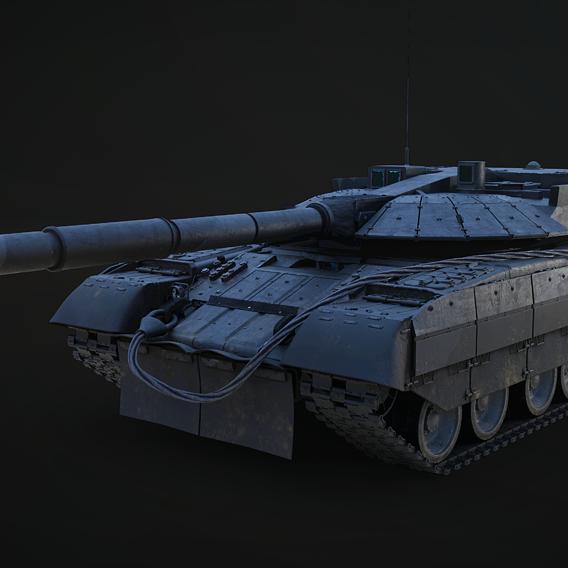 "Object 640 ""Black Eagle"" Tank"