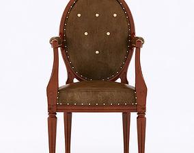 Fauteuil medaillon chair 3D